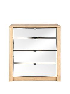 como-mirrored-4-drawer-graduated-chest