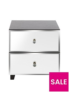 Bellagio 2 Drawer Bedside Cabinet