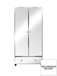 Bellagio2 Door, 1 Drawer Wardrobe