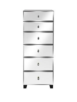 Bellagio 6 Drawer Narrow Chest