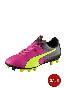 puma-evospeednbspjunior-55-tricks-firm-ground-football-boots