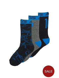 adidas-messi-junior-3pack-socks