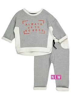 river-island-mini-mini-boys-grey-jumper-joggers-co-ord-outfit