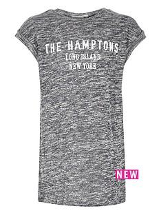 river-island-girls-marl-hamptonsnbspt-shirt