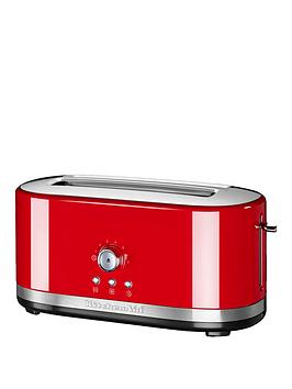 Kitchenaid 5Kmt4116Ber Long Slot Manual Control Toasted – Red