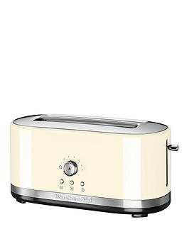 Kitchenaid 5Kmt4116Bac Long Slot Toaster – Cream