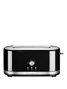 kitchenaid-kitchenaid-5kmt411bob-long-slot-manual-control-toaster-black