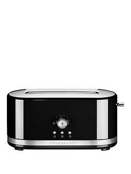 Kitchenaid 5Kmt411Bob Long Slot Toaster – Black