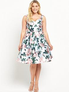 chi-chi-london-curve-curve-rose-print-bardot-full-midi-prom-dress