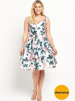 chi-chi-london-curve-curve-rose-print-bardot-full-midi-prom-dress