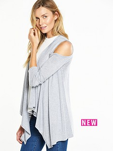 v-by-very-cold-shoulder-draped-waterfall-front-cardigan