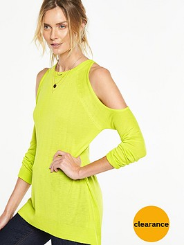 v-by-very-exposed-shoulder-elliptical-hem-jumper-nbsp