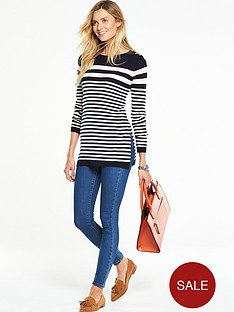 v-by-very-stripe-crew-neck-split-side-longlinenbspjumpernbsp