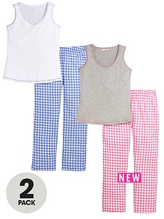 sorbet-2-pack-gingham-pj-set