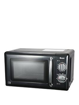 Swan Sm22080B 20-Litre Manual Microwave - Black