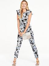 Printed Slim Leg Jumpsuit