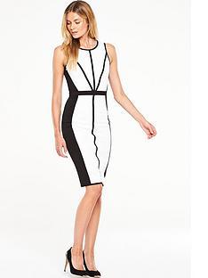v-by-very-contrast-midi-bodycon-dress