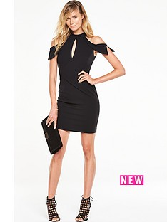 v-by-very-cold-shoulder-mini-pencil-dress
