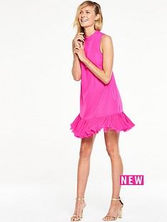 v-by-very-high-neck-petal-swing-dress