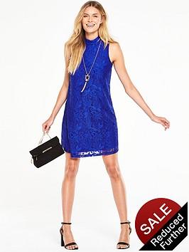 v-by-very-lace-high-neck-swing-dress