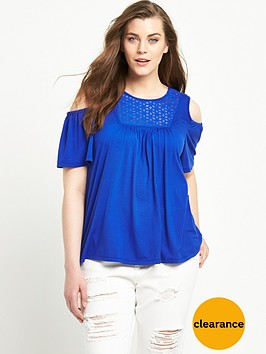 so-fabulous-cold-shoulder-broderie-yolk-jersey-top-blue