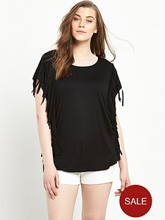 so-fabulous-fringe-side-t-shirt-black