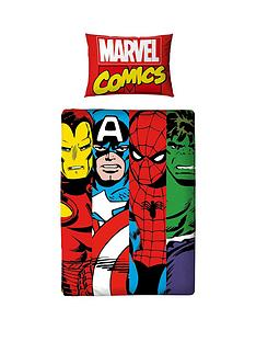 marvel-comic-clash-toddler-duvet-cover-set