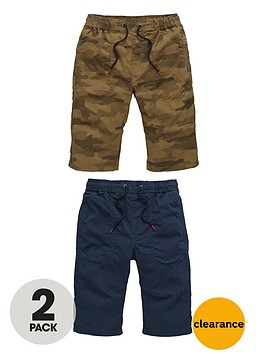 v-by-very-boys-pull-on-shorts-in-navy-and-camouflagenbsp2-pack