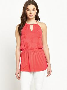 v-by-very-embroidered-halter-neck-jersey-top