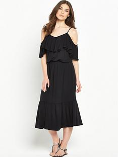 v-by-very-gypsy-cold-shoulder-jersey-midi-dressnbsp