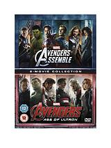 Avengers Age Of Ultron/Avengers Assemble Double Pack
