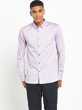 ted-baker-dot-print-long-sleevenbspshirt
