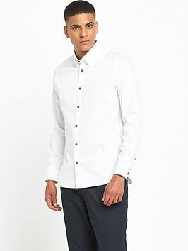ted-baker-long-sleeve-dobby-shirt