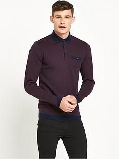 ted-baker-long-sleevenbsppolo-shirt