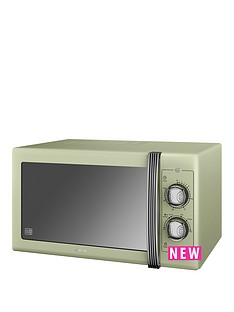 swan-25l-retro-microwave-green