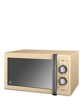 swan-sm22070cn-25-litre-retro-microwavenbsp--cream