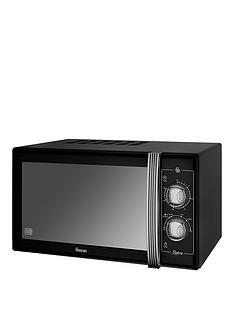 swan-sm22070bn-25-litre-retro-microwave-black
