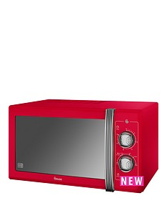 swan-25l-retro-microwave-red