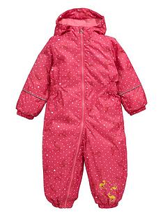 regatta-regatta-little-girls-printed-waterproof-all-in-one-suit