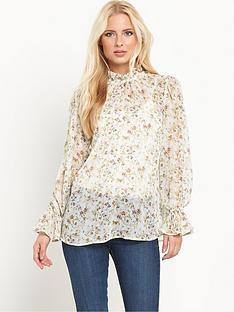 v-by-very-floral-print-high-neck-blousenbsp