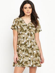 glamorous-printed-shift-dress