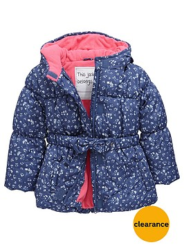 mini-v-by-very-girls-printed-padded-coat-with-belt-and-hood