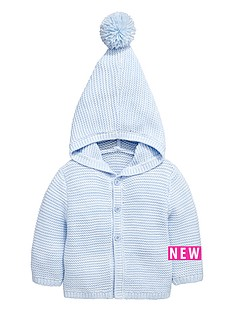 ladybird-baby-boys-layette-hooded-knitted-cardigan