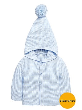 ladybird-babynbspboys-hooded-knitted-cardigan