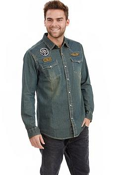 joe-browns-mensnbspcustomised-denim-shirt