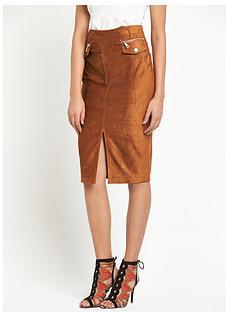 river-island-suedette-pencil-skirt
