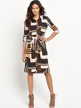 river-island-midi-printed-shirt-dress