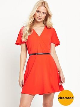 river-island-belted-tea-dress