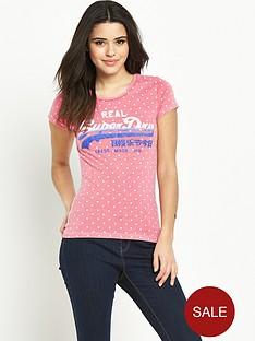superdry-vintage-logonbspaop-t-shirtnbsp--overdyednbspfluoro-pink