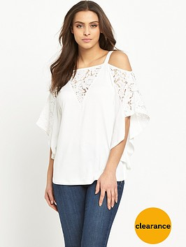 v-by-very-lace-panel-cold-shoulder-batwingnbsptopnbsp